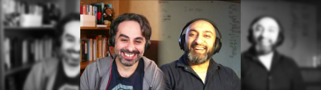 Jock Busuttil and Ray Rafiq-Omar on the The Pig Wrestlers podcast